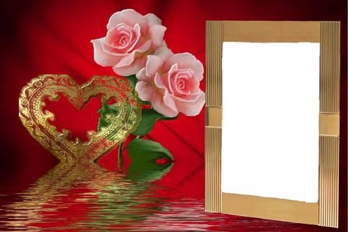 Цветок рамки с днем рождения
