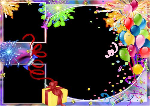 с днем рождения картинки рамка