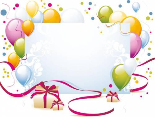 Поздравления с днем рождения в векторной