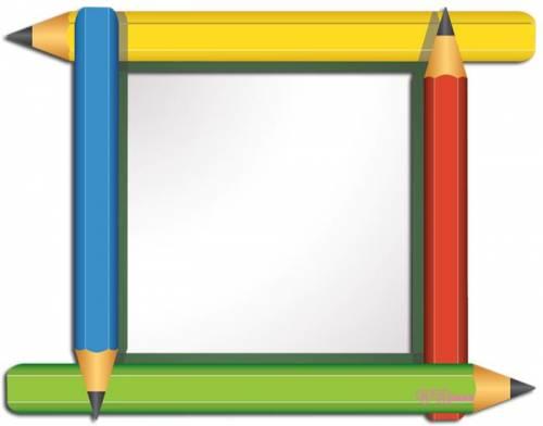 картинки школьные рамки для текста
