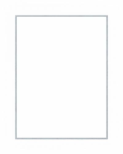 Голубая прямоугольная рамка рамки