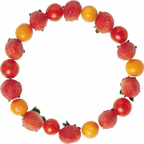 Рамка из фруктов и овощей рамка
