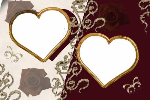 сердечки свадебные рисунки